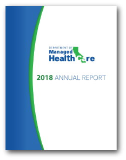 2018 DMHC Annual Report