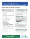 Getting Health Care Benefits and Services Fact Sheet