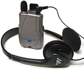 image of assistive listening earphones